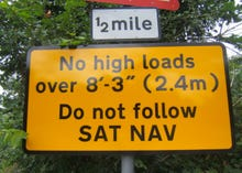 Using a satnav switches off part of your brain