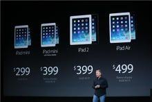 iPad Air and Retina display iPad mini's UK pricing revealed, sticks to premium end