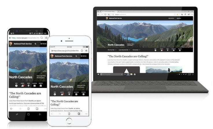 Microsoft Edge for iOS/Android - Continue on PC