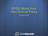 Implement a ready-made policy to manage BYOD in your organization