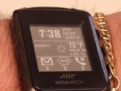 09 MetaWatch on wrist