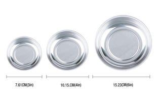 HORUSDY 3-Piece Magnet Trays Set