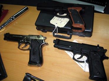 A customs weapon seizure