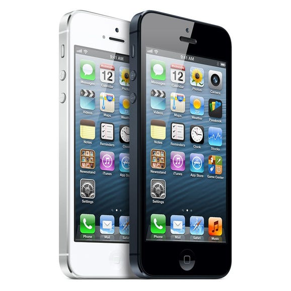 4. Apple iPhone 5