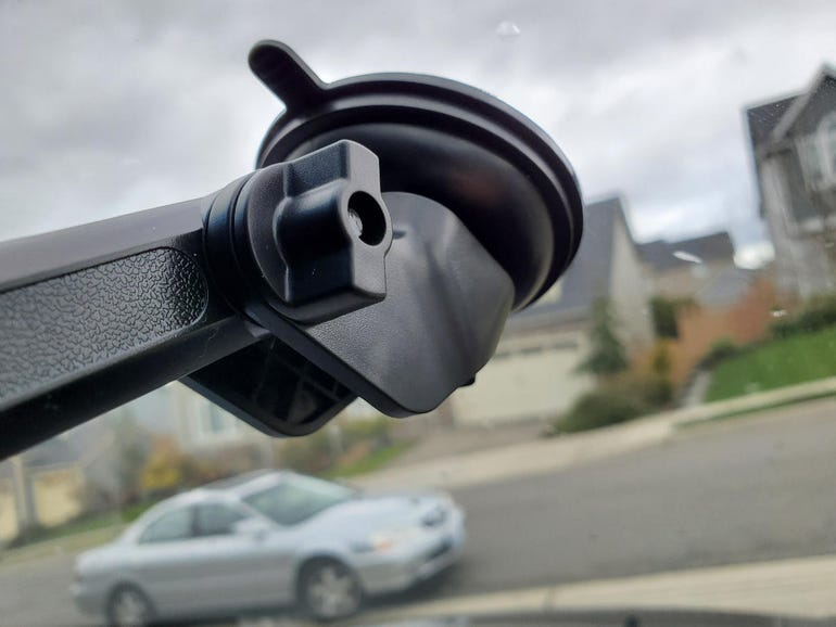 Secure suction cup mount