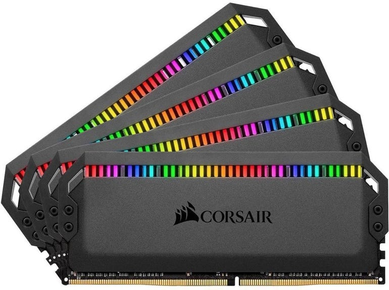 CORSAIR Dominator Platinum RGB 128GB (8 x 16GB) 288-Pin DDR4 3200 RAM