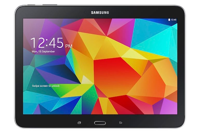 The 10.1-inch Galaxy Tab4. Image: Samsung