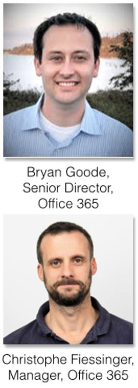 Bryan Goode and Christophe Fiessinger Interview on Microsoft Collaboration