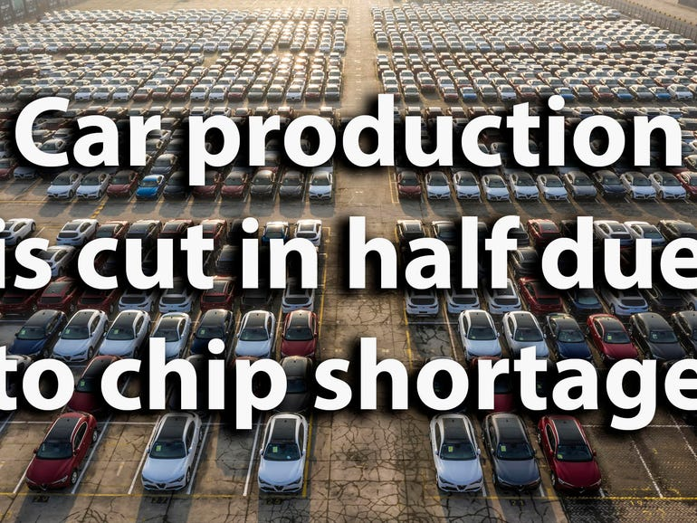 Car makers are cutting production by half as the global ...
