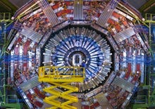 Large Hadron Collider tech: photos