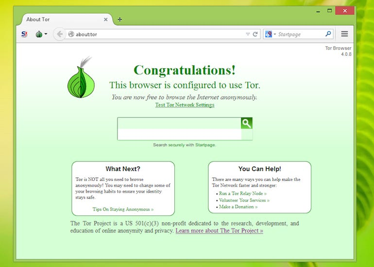 7. Use Tor for anonymous browsing