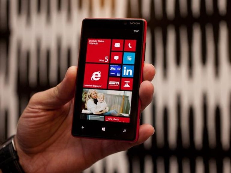 Nokia Lumia phone