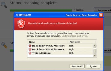 Rogue anti-malware lures squirming though Skype