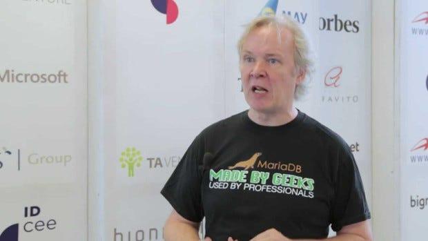 "MySQL/MariaDB's Michael ""Monty"" Widenius"