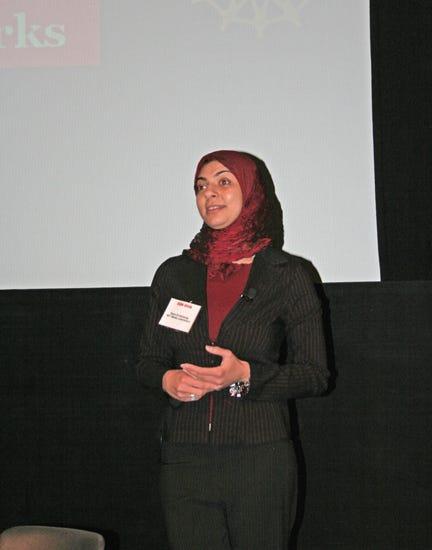 Dr. El Kaliouby at MIT Media Lab's 2006 Body Sensor Network conf