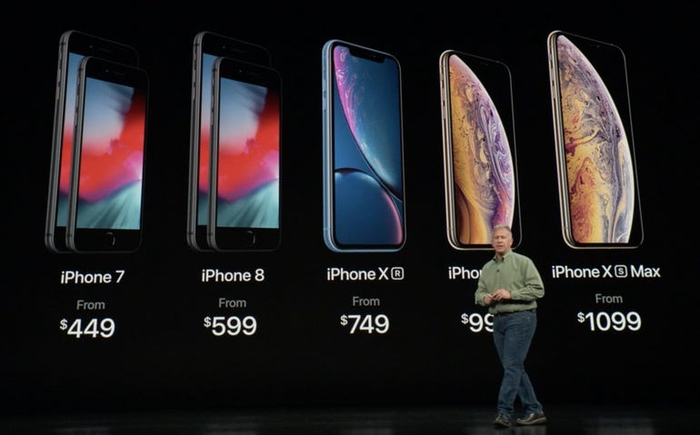 The complete updated iPhone line up
