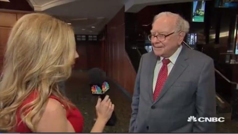 Becky Quick interviews Warren Buffett on CNBC
