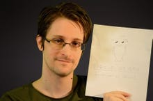 "Any regrets, Edward Snowden? ""I'd have come forward sooner"""