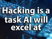 Hacking is a task AI will excel at (and we are not far from that point!)