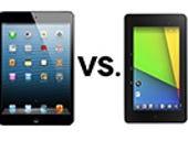 Tech spec showdown: the new Nexus 7 vs. iPad mini