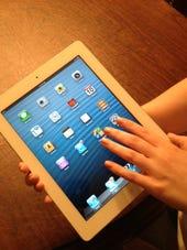 iPad photo by Joe McKendrick 5-2013