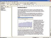 Creating a document in WordPerfect