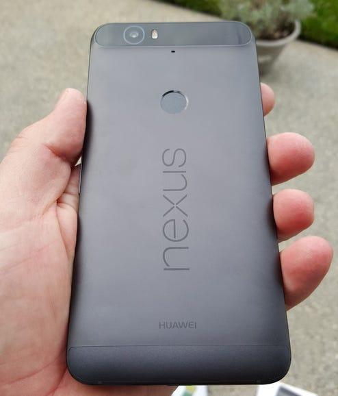 Back of the Nexus 6P