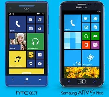 Sprint announces HTC 8XT and Samsung ATIV S Neo Windows Phone 8 devices