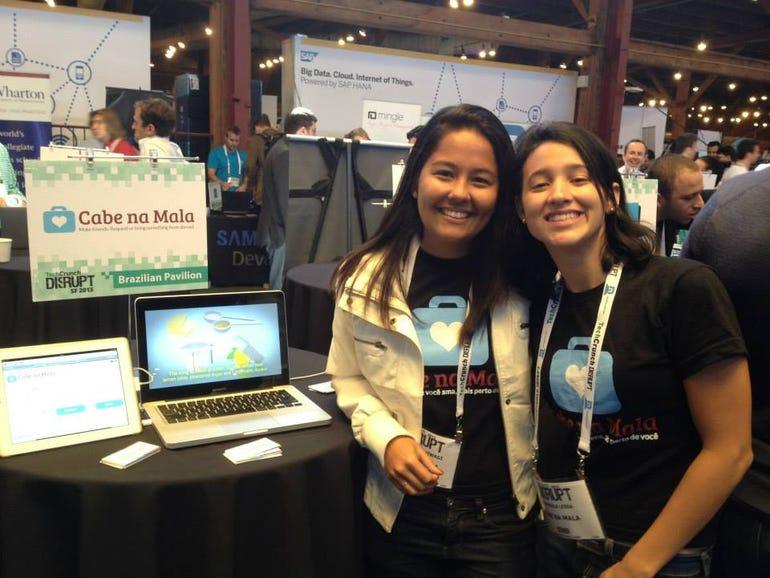 Marcela Kashiwagi and Ana Paula Lessa, founders, Cabe Na Mala
