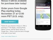 Nexus 4 goes back on sale at 12pm Pacific - Can the Play Store hold up this time?
