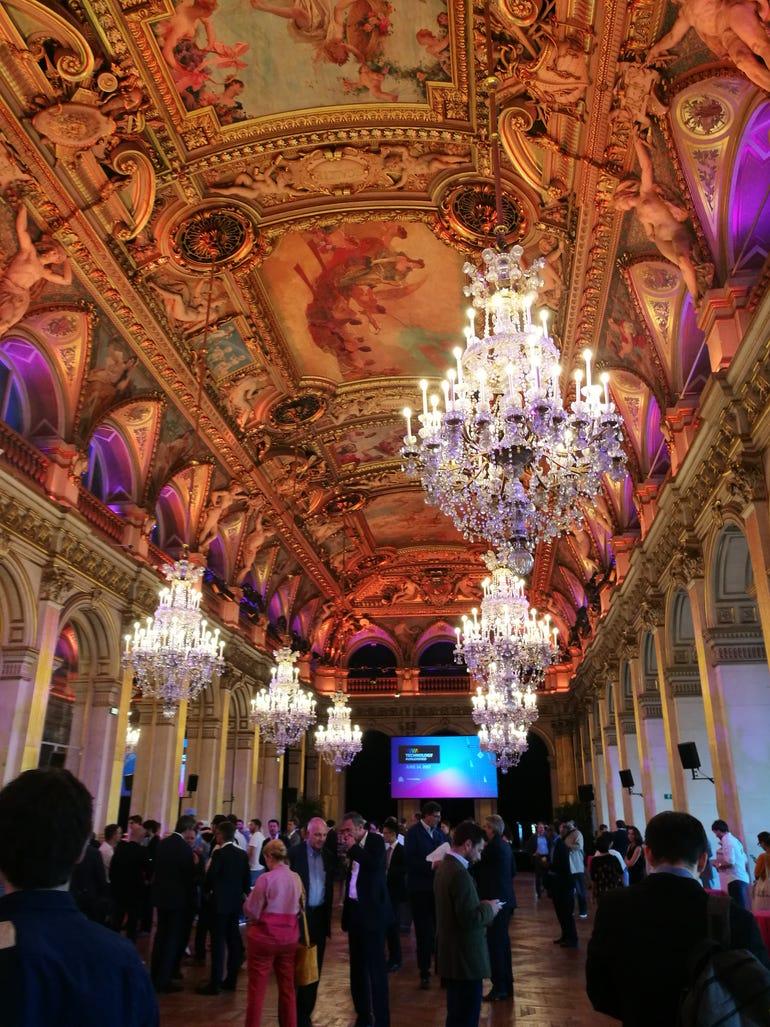 Tech gathering at Hotel de Ville