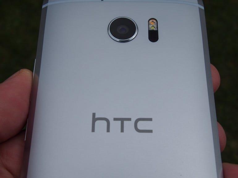 HTC rear logo