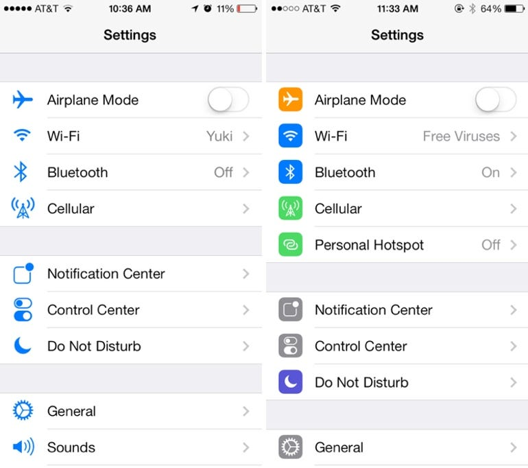 iOS 7 beta drops with revamped Settings, Control Center and Messages - Jason O'Grady