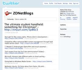 Twitter ZDNet