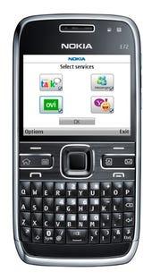 Nokia's last dedicated business device, the E72