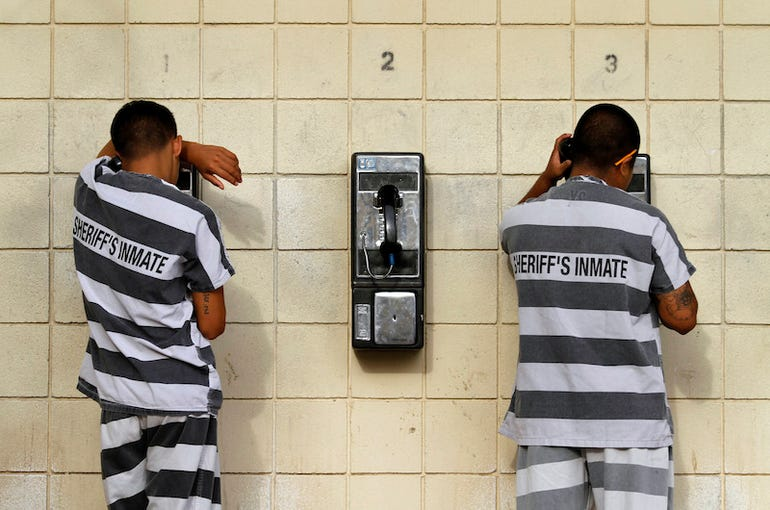 70 million prison phone records handed to reporters