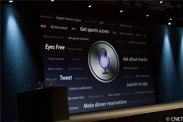 Siri on iOS 6