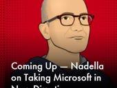 Microsoft CEO Nadella talks up software (again)