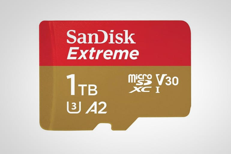 1TB SanDisk Extreme UHS-I microSDXC card