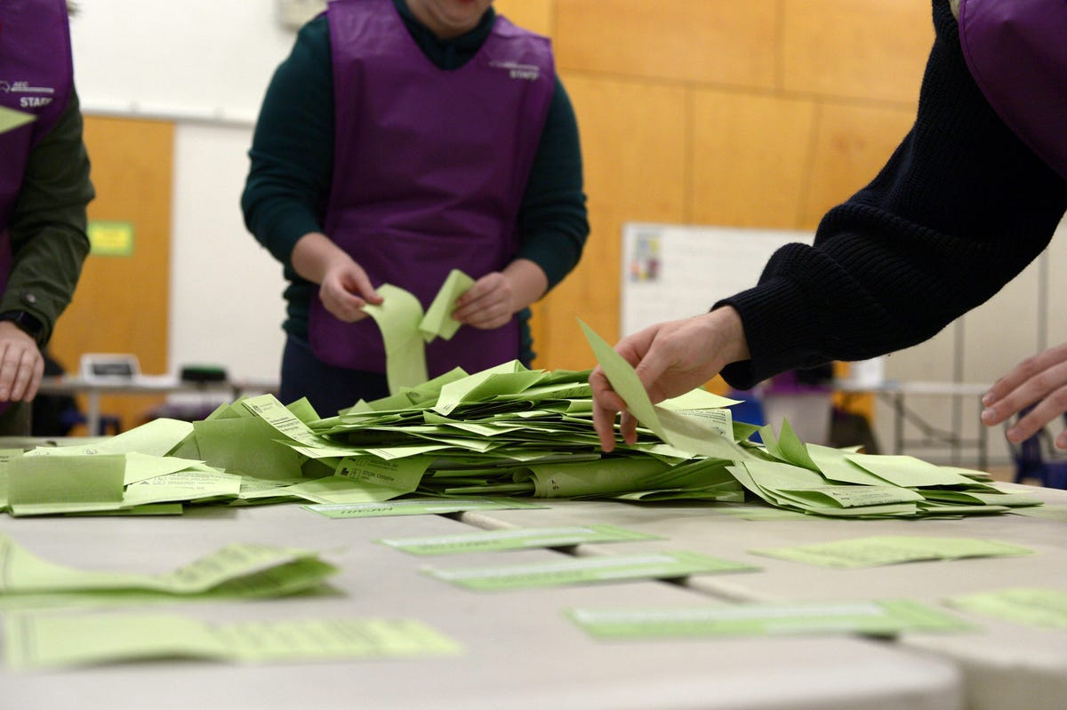 counting votes australia