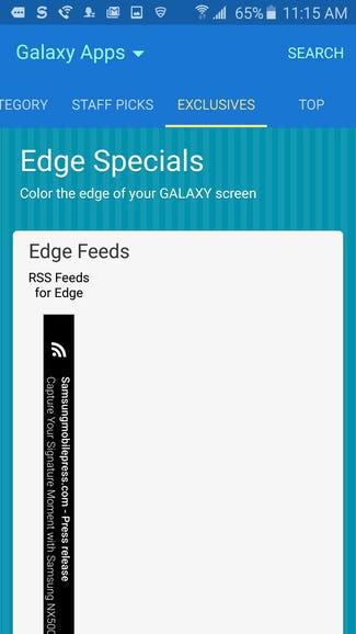 Edge needs apps