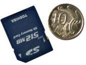 Toshiba 512MB SD Memory Card