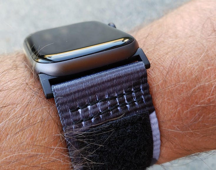 Durable stitching on the Active band