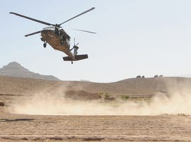 Army helicopter