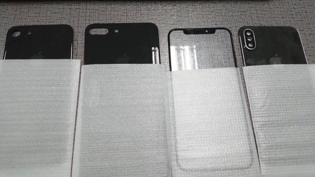 First alleged iPhone 8 parts leaks
