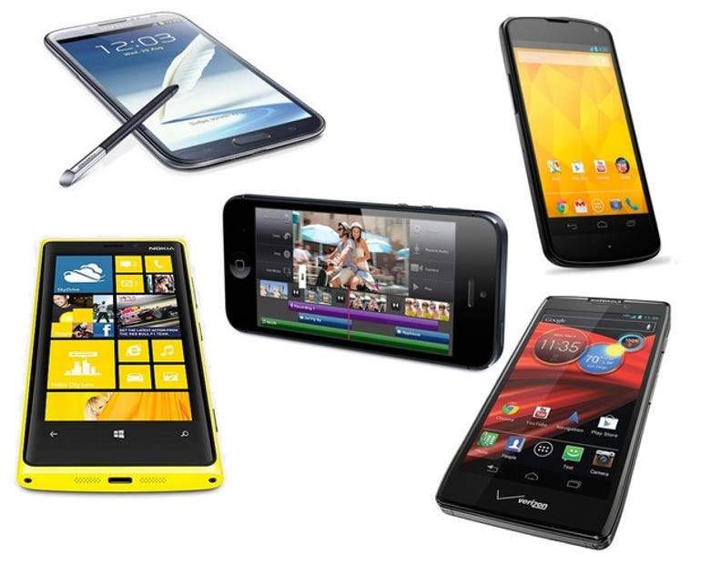 Smartphone-Assortment