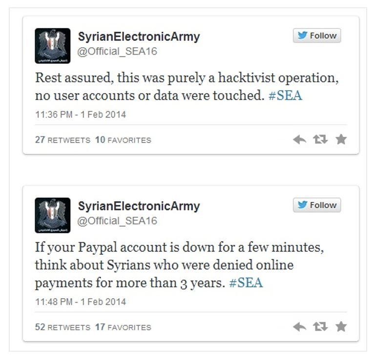 Syrian Electronic Army PayPal
