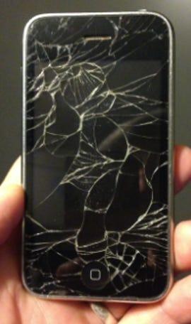 iPhone 3GS: slightly used