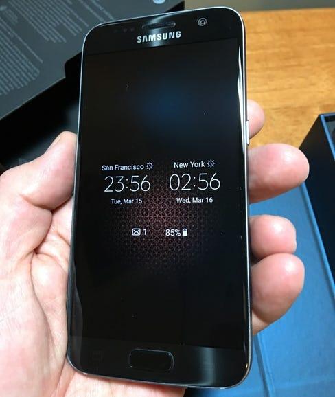 5.1 inch Samsung Galaxy S7