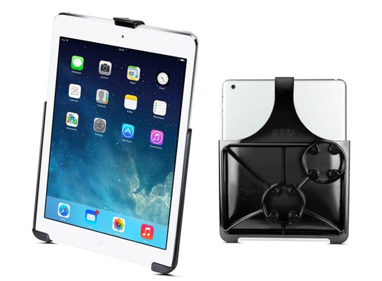 In-car mount: RAM Mount for iPad